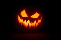 Pumpkin& x27 de Halooween ; grimace de s images stock
