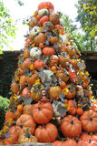 Pumpkin decoration Stock Images