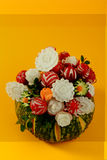 Pumpkin, decorative vegetables, carrots, radishes, Royalty Free Stock Photo