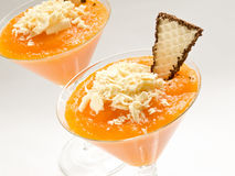Pumpkin dessert Royalty Free Stock Images