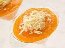 Pumpkin dessert Stock Image