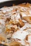 Pumpkin Dessert - Tikvenik Stock Photo