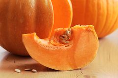 Pumpkin detail Royalty Free Stock Photography