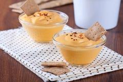 Pumpkin dip Stock Images