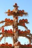 Pumpkin display Royalty Free Stock Photo