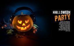 Pumpkin DJ Stock Photos