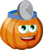 Pumpkin doctor Royalty Free Stock Images