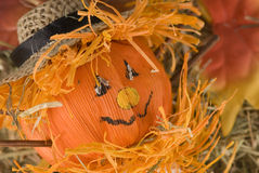 Pumpkin doll Royalty Free Stock Photo
