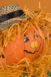 Pumpkin doll close-up Royalty Free Stock Photos