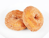 Pumpkin donuts Royalty Free Stock Photos