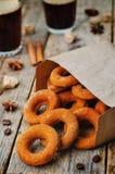 Pumpkin donuts Royalty Free Stock Photo