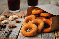 Pumpkin donuts Royalty Free Stock Images