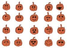 Smiles Pumpkin Royalty Free Stock Image