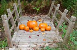 Pumpkin escape royalty free stock photos