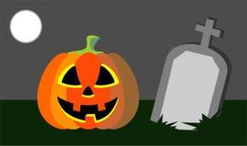 Pumpkin Evil Stock Images