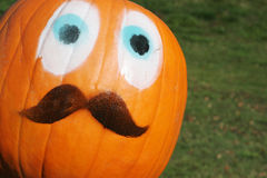 Pumpkin face! Stock Photos