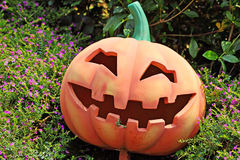 Pumpkin face Royalty Free Stock Image