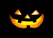 Pumpkin face Stock Images