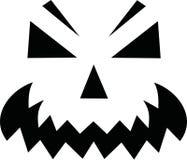 Pumpkin face - Jack o Lantern. Vector Royalty Free Stock Photo