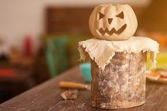 Pumpkin face jack stock photography