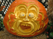Pumpkin Face Royalty Free Stock Photo