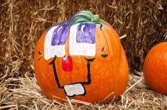 Pumpkin face Stock Photo
