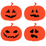 Pumpkin faces Stock Photos