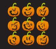 Pumpkin faces Royalty Free Stock Photos