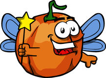 Pumpkin fairy Stock Image