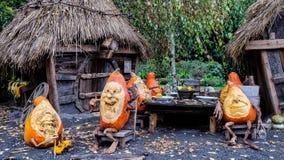 The pumpkin festival - Stuttgart Royalty Free Stock Images