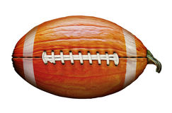 Pumpkin Football Royalty Free Stock Image