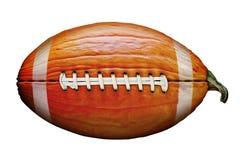 Pumpkin Football. Photo-illustration of a pumpkin football Royalty Free Stock Image