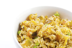 Pumpkin fried rice Royalty Free Stock Images
