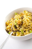 Pumpkin fried rice Royalty Free Stock Photo