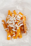 Pumpkin fries Royalty Free Stock Photo