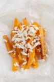 Pumpkin fries Royalty Free Stock Photo