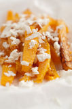 Pumpkin fries Royalty Free Stock Images
