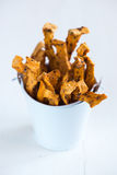 Pumpkin fries Royalty Free Stock Photography