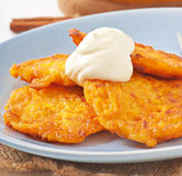 Pumpkin Fritters Stock Image