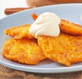 Pumpkin Fritters Stock Image