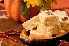 Pumpkin Fudge Stock Photos