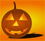 Pumpkin, Ghost, Halloween, Light Stock Photo