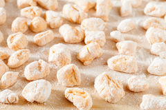 Pumpkin Gnocchi In Flour Stock Images