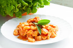 Pumpkin Gnocchi Royalty Free Stock Photos