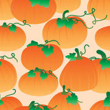 Pumpkin gradient seamless pattern Royalty Free Stock Photography