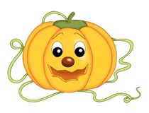 Pumpkin of Halloween Stock Images