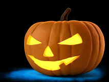 Pumpkin for Halloween. Evil holiday pumpkin for Halloween Stock Images
