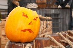 Pumpkin of Halloween Stock Photo