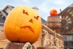 Pumpkin of Halloween Royalty Free Stock Photos