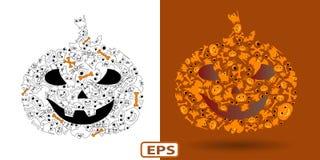 Pumpkin_Halloween Imagen de archivo libre de regalías